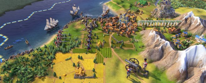 Screenshot de civilization 6