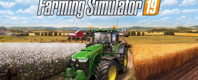 Wallpaper Farming simulator 2019